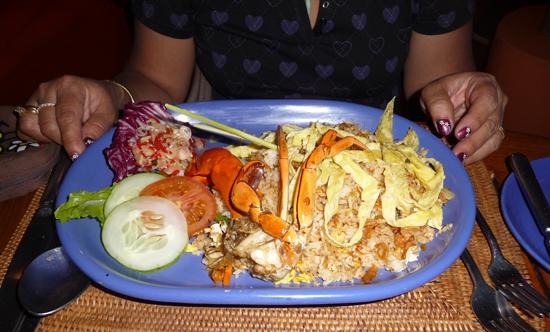 Nasi goreng en Lombok