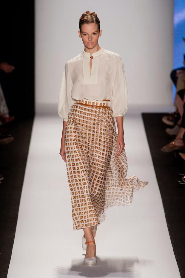 Fashion Runway Carolina Herrera Spring - Summer 2014 NYFW