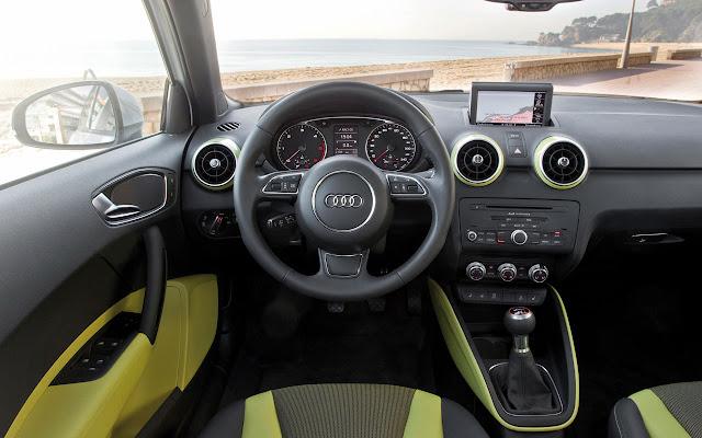 The Audi A1 Sportback interior