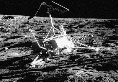 Surveyor 3 on the Moon