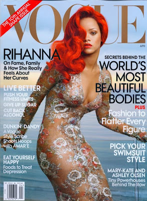 >Rihanna en couv' de Vogue US