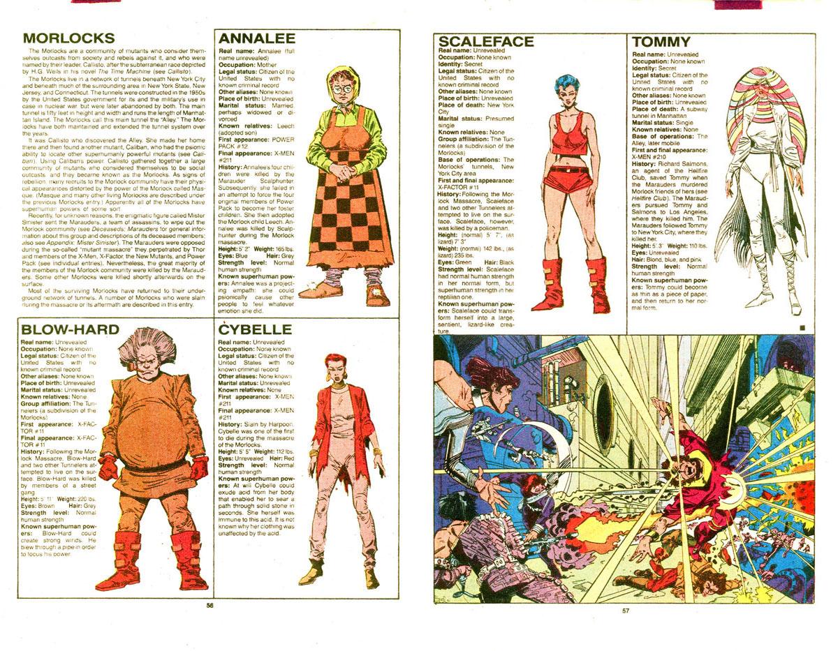 Morlocks (Team) - Comic Vine