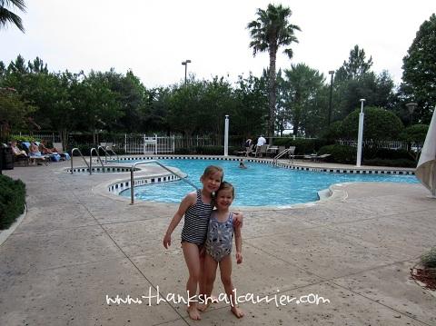 Hilton Garden Inn pool
