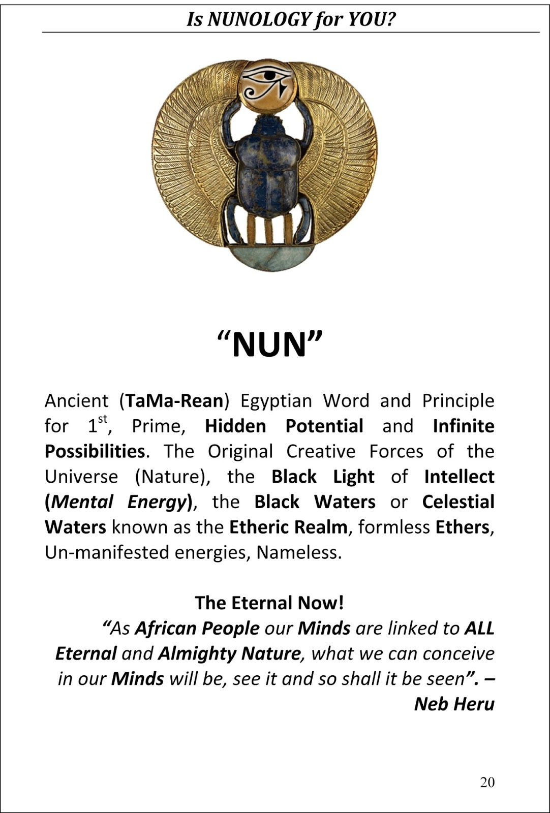 The Eternal Temple Of Nuninc On Sale Now The Symbol Of