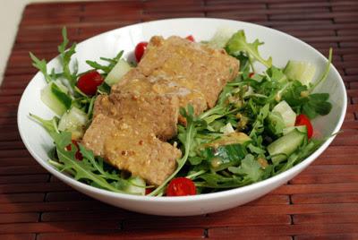 tempeh miso salad