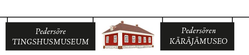 Pedersöre tingshusmuseum