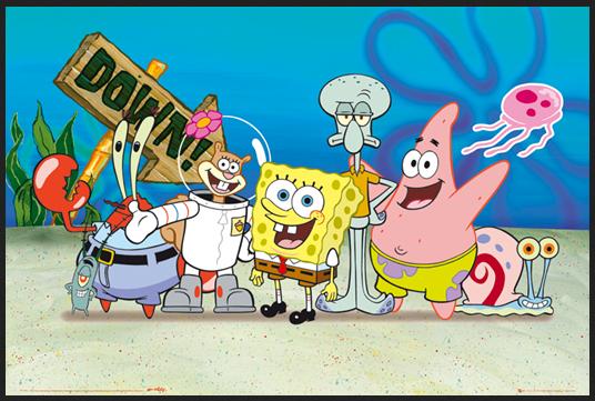 Pesan moral film kartun Spongebob