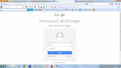 cara membuat email dan blog gratis dan cepat, cara membuat blog, cara membuat email di gmail, 0856.4640.4349