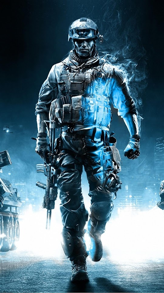 Call Of Duty Ghosts Soldier  Galaxy Note HD Wallpaper
