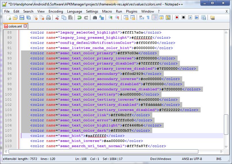 Tutorial Cara Merubah Warna Font Android