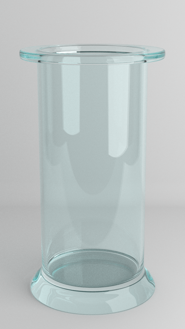 Blender Cycles Clear Glass