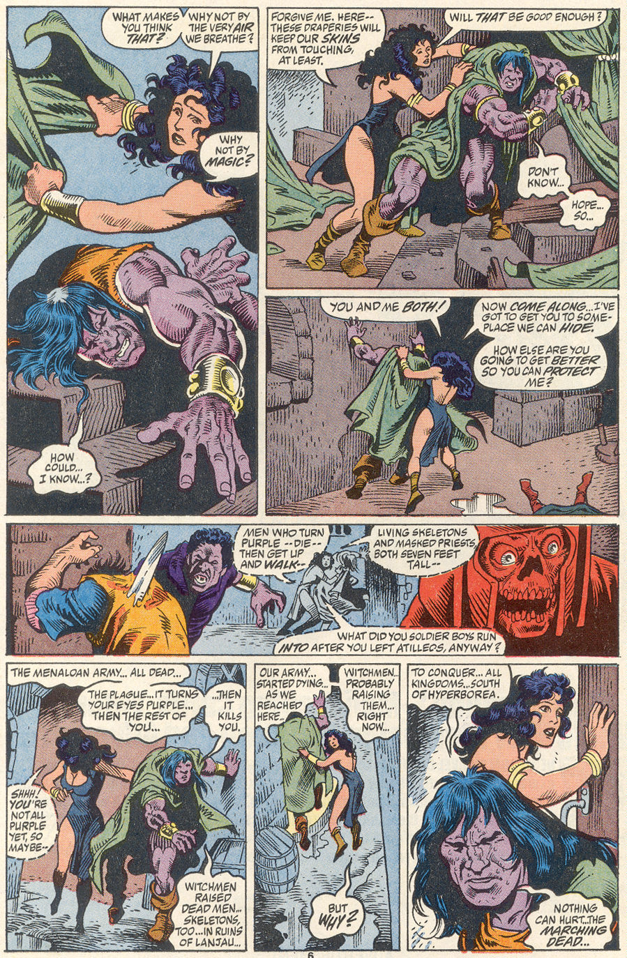 Conan the Barbarian (1970) Issue #256 #268 - English 6