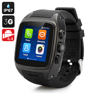 iMacwear M7 un smart watch phone con android 4.4, dual core, 3G, micro sim, pantalla IPS capacitiva