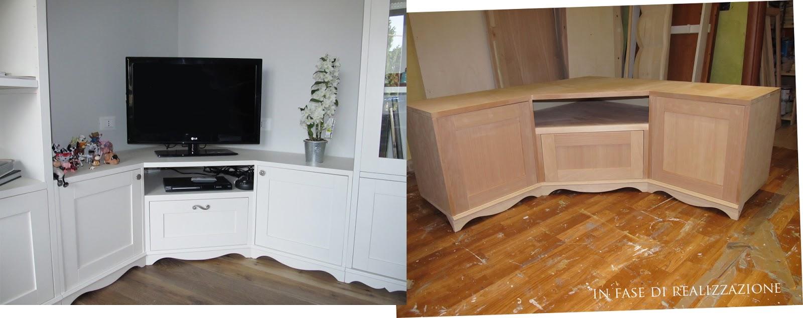 Un total look firmato mobili a colori shabby chic interiors - Mobili a colori ...