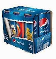 Amazon : Pepsi IPL Cans, 250ml x 6 (RCB, MI, CSK, SH) Rs.99 : Buy To Earn