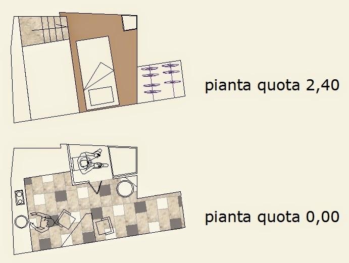 Architettura e progetti di qualit mini appartamenti il for Progetti mini appartamenti
