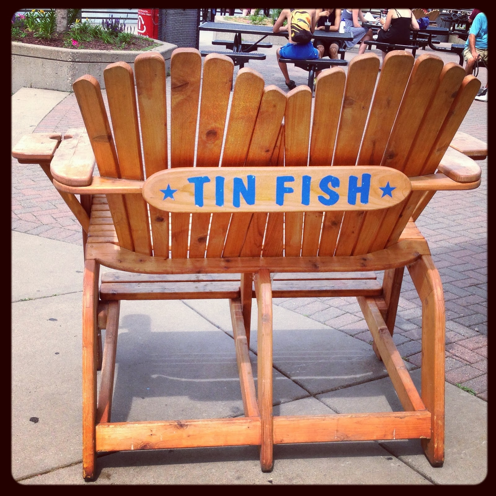 Boat shoes and button downs for Tin fish restaurant