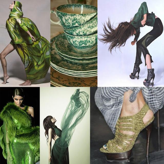 Referências criativas: all green