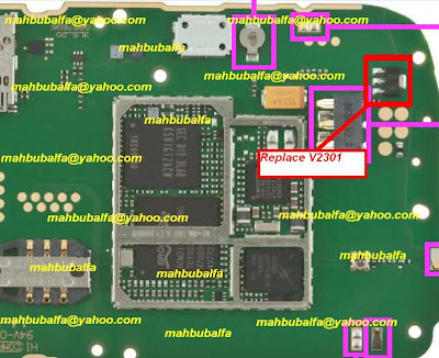 Nokia X2-01 Fake charging & Not Charging Solution