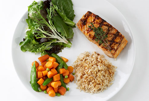 webmd photo of healthy portions on plate The Healthy Meal Plans for Effective Weight Loss