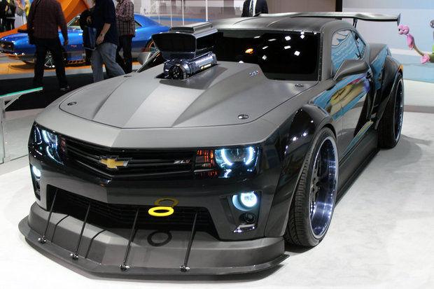 Perry Auto Group Custom Camaro Revs Up Dreamworks