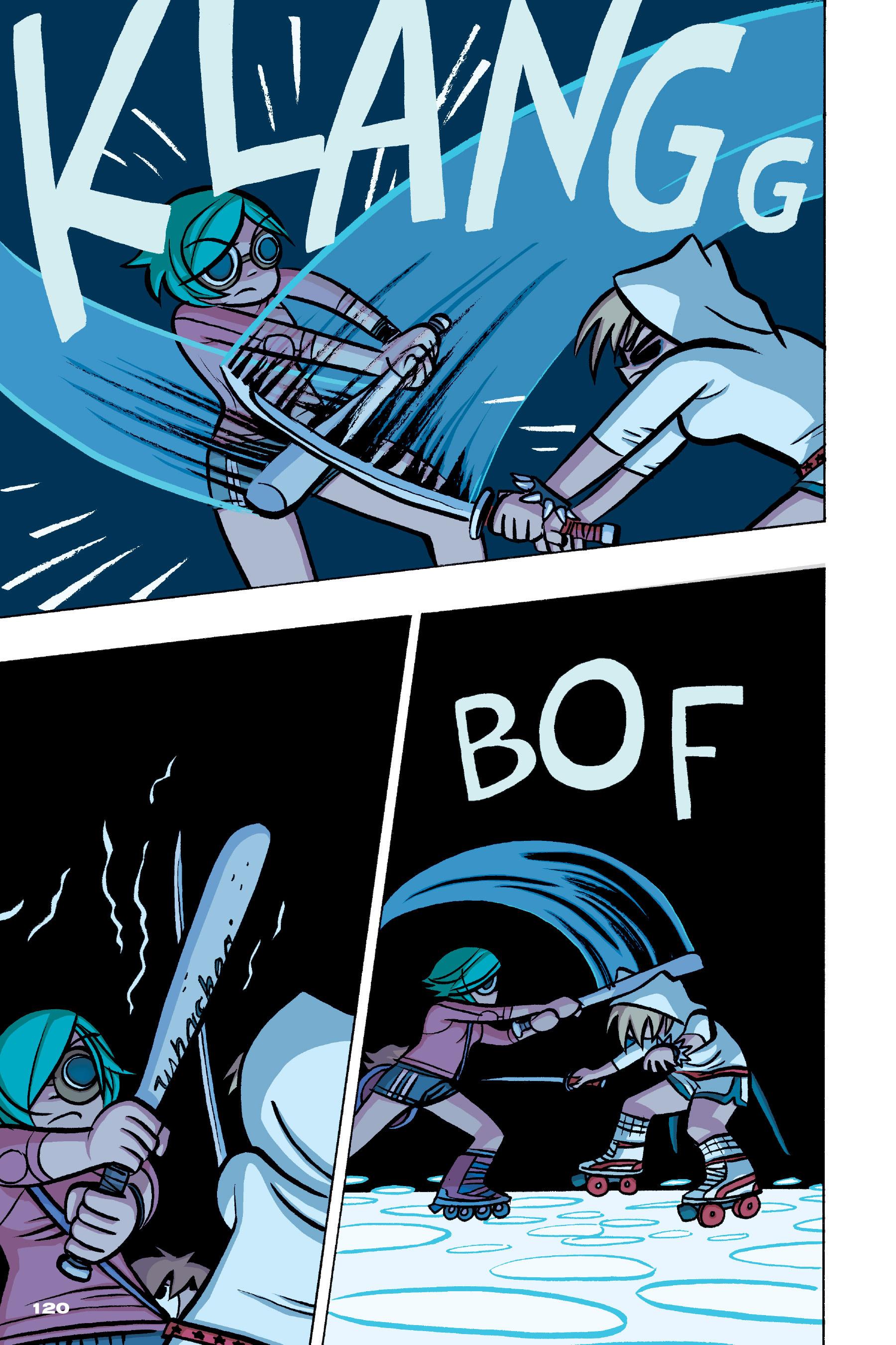 Read online Scott Pilgrim comic -  Issue #4 - 117