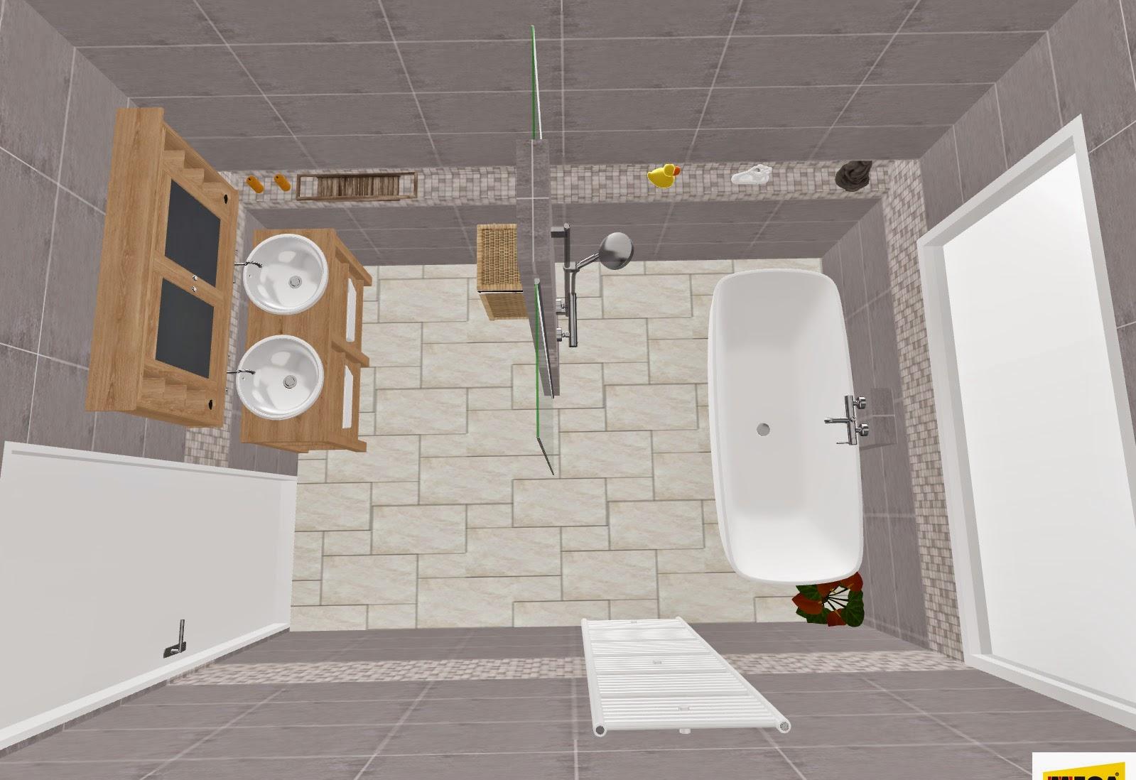 Ons nieuwe huis badkamer final - Nieuwe ontwerpmuur ...