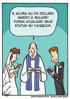 Direito de Família e Internet. Mais uma vez, para refletir: casamento e facebook