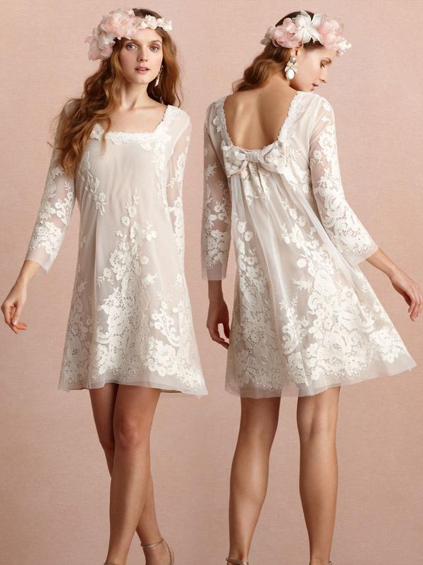 Kurze Brautkleider für Bräute