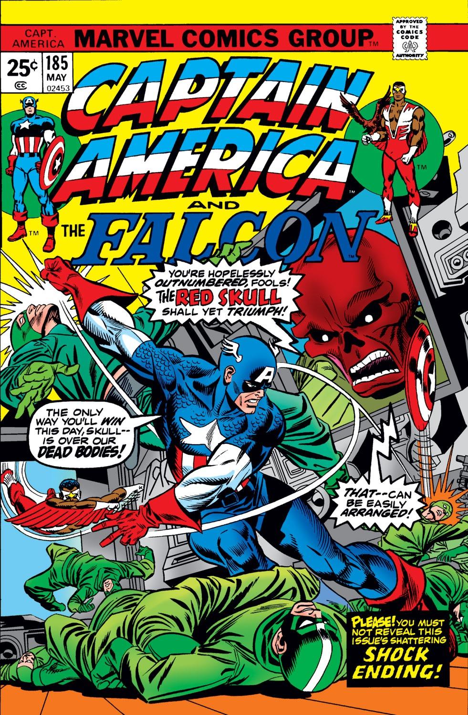 Captain America (1968) Issue #185 #99 - English 1