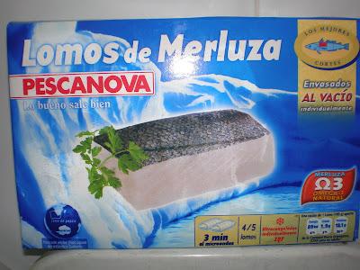 Lomos de merluza Pescanova