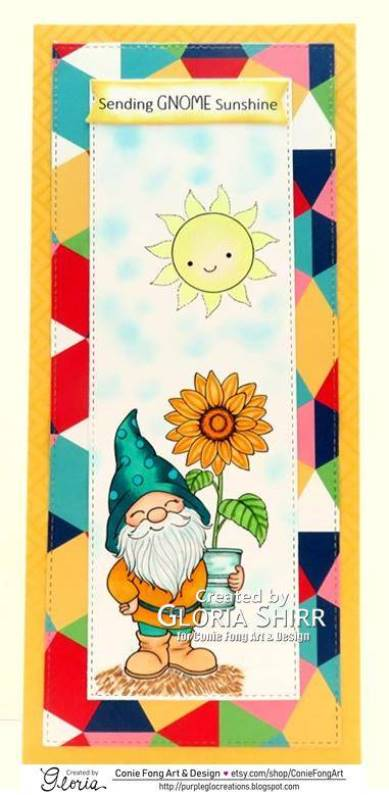 Featured Card at Crafty Happiness Challenges
