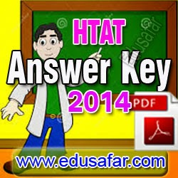 HTAT 2014 Provisional Answer Key