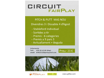 Circuit Fair Play en Pitch & Putt Mas Nou