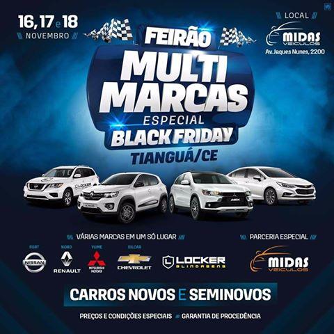 FEIRÃO MULTIMARCAS AQUECE MERCADO DE VEÍCULOS