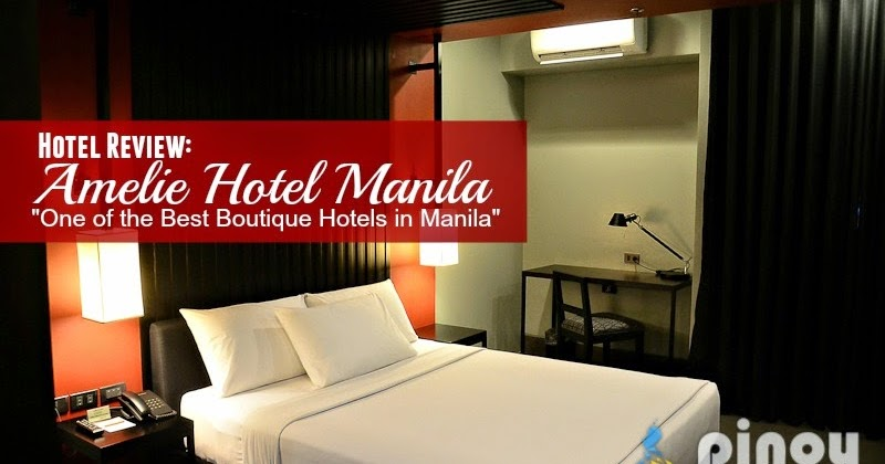 Amelie hotel manila one of the best boutique hotels in for Best boutique hotels in the world