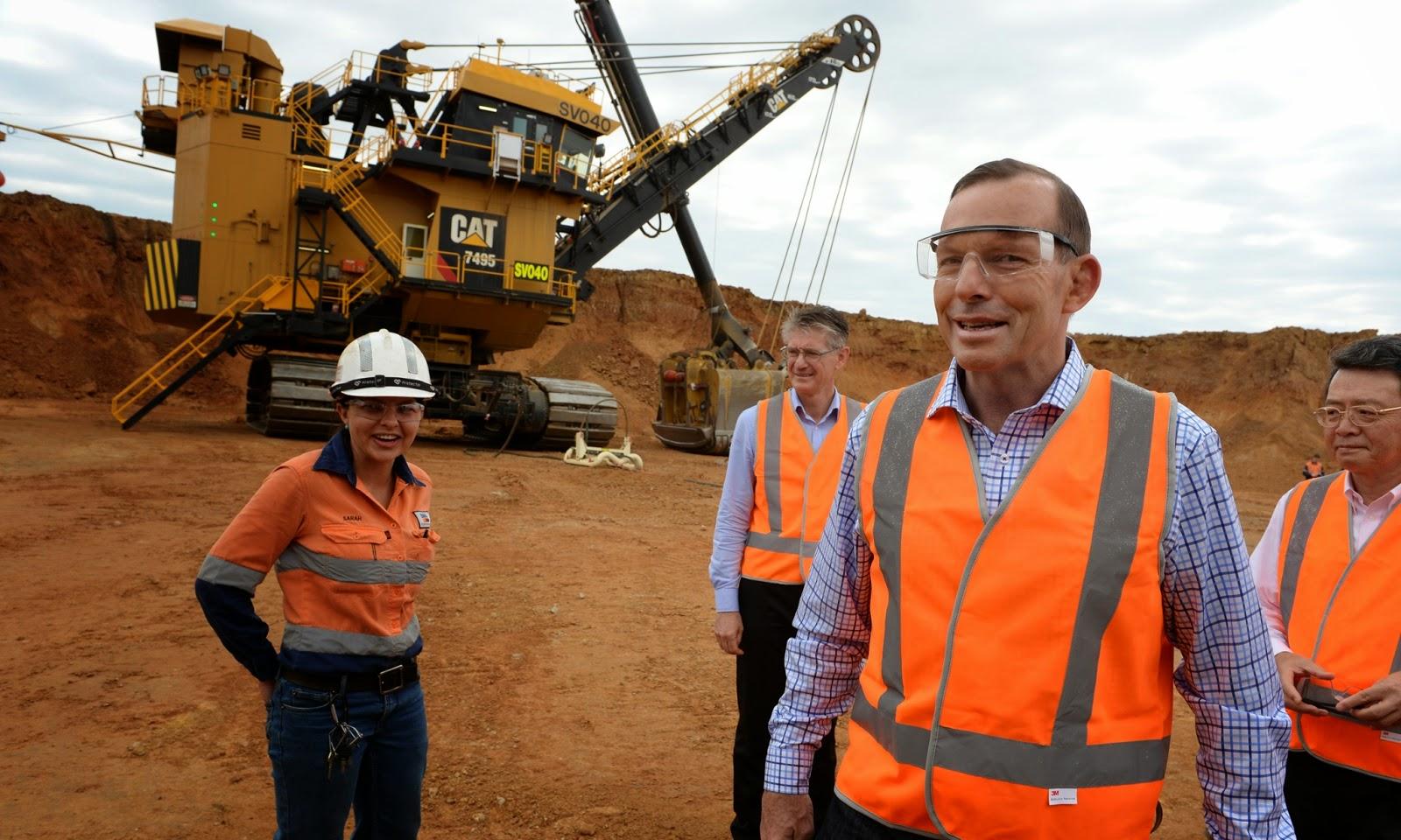 Tony Abbott: Portrait of a dinosaur.