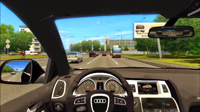 Driving In Speed Car Game