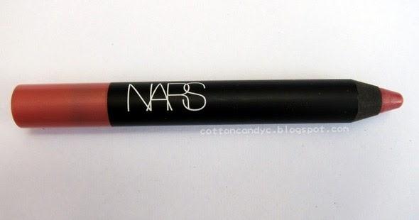 nars velvet matte lip pencil machine