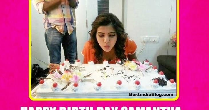 happy birthday samantha ruthu prabhu  hbdsamantha