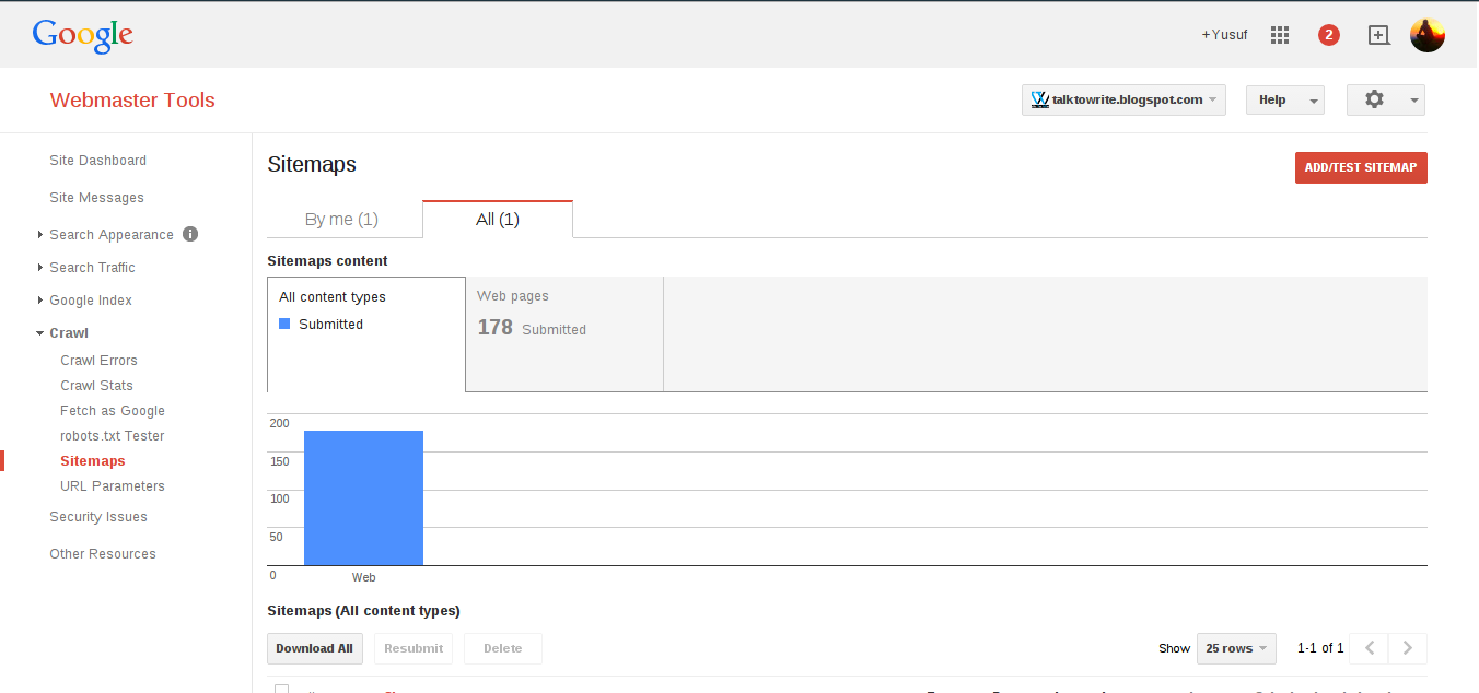 Cara mudah membuat sitemap otomatis di blogspot