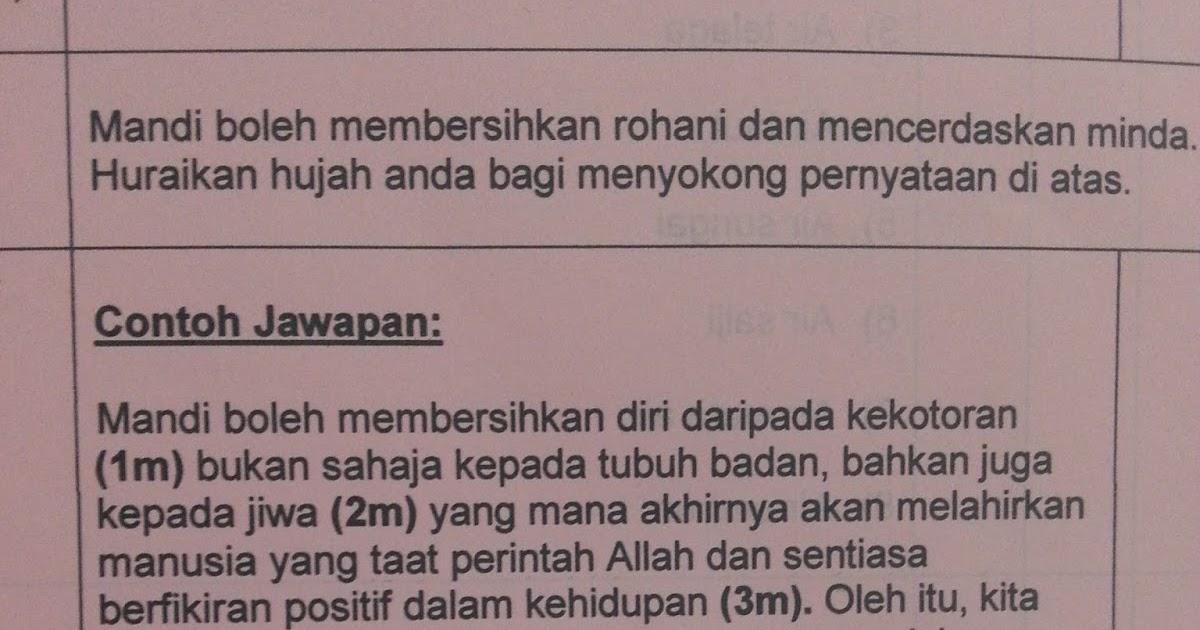 Contoh Soalan Kbat Pendidikan Islam Beserta Jawapan Persoalan X
