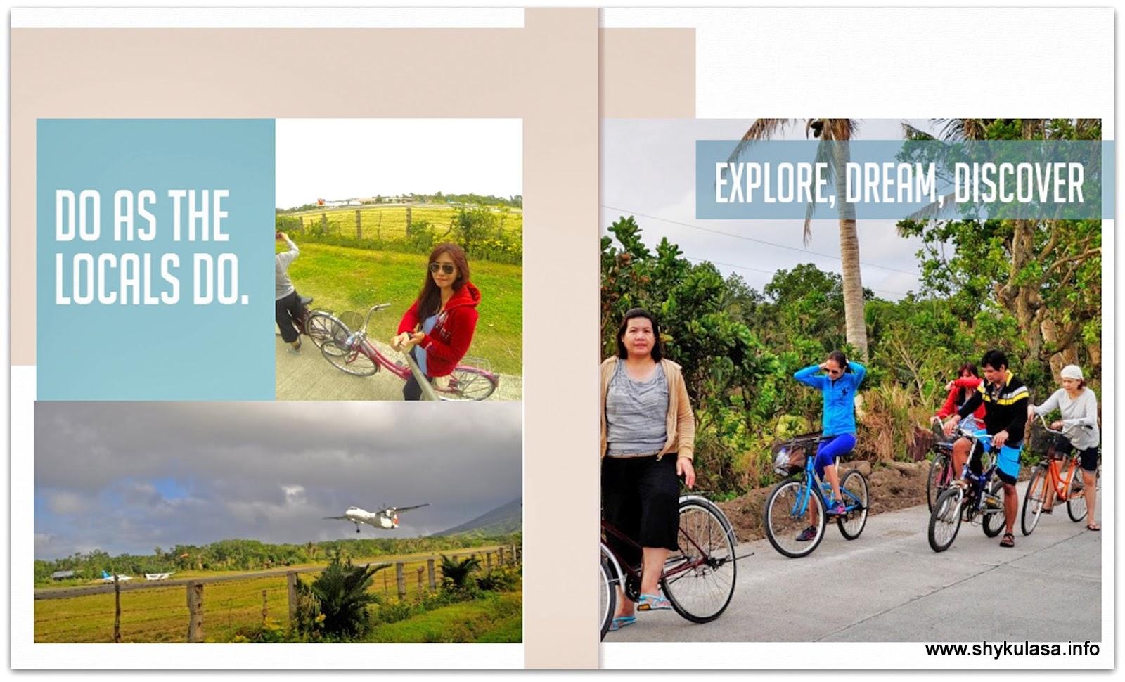 Biking around North Batan