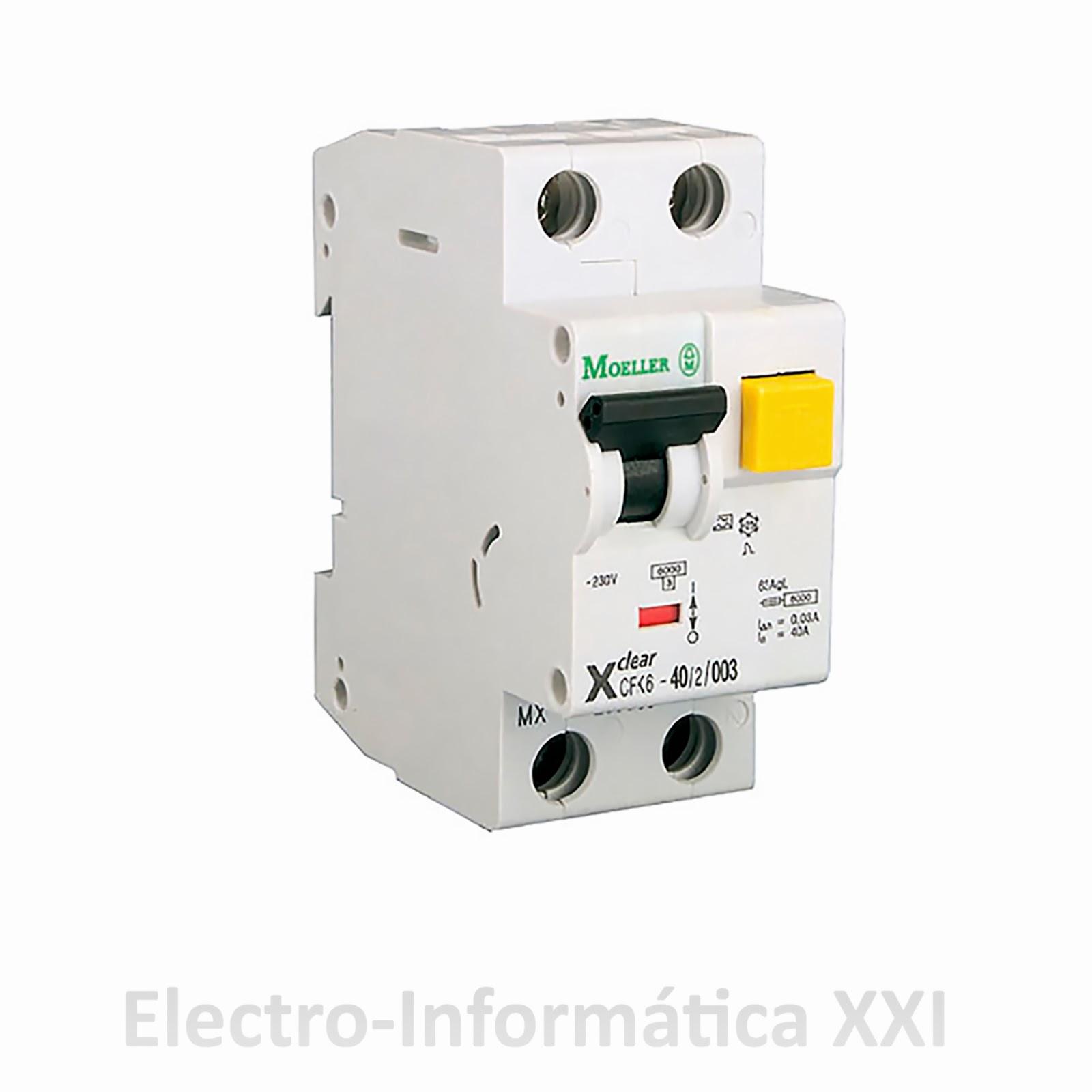 Electro inform tica xxi ofreciendo soluciones eficaces - Interruptor diferencial precio ...