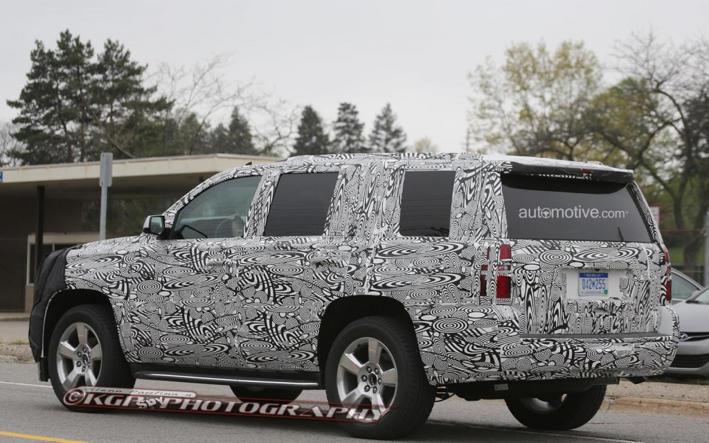 SPOTTED: 2015 Chevrolet Tahoe
