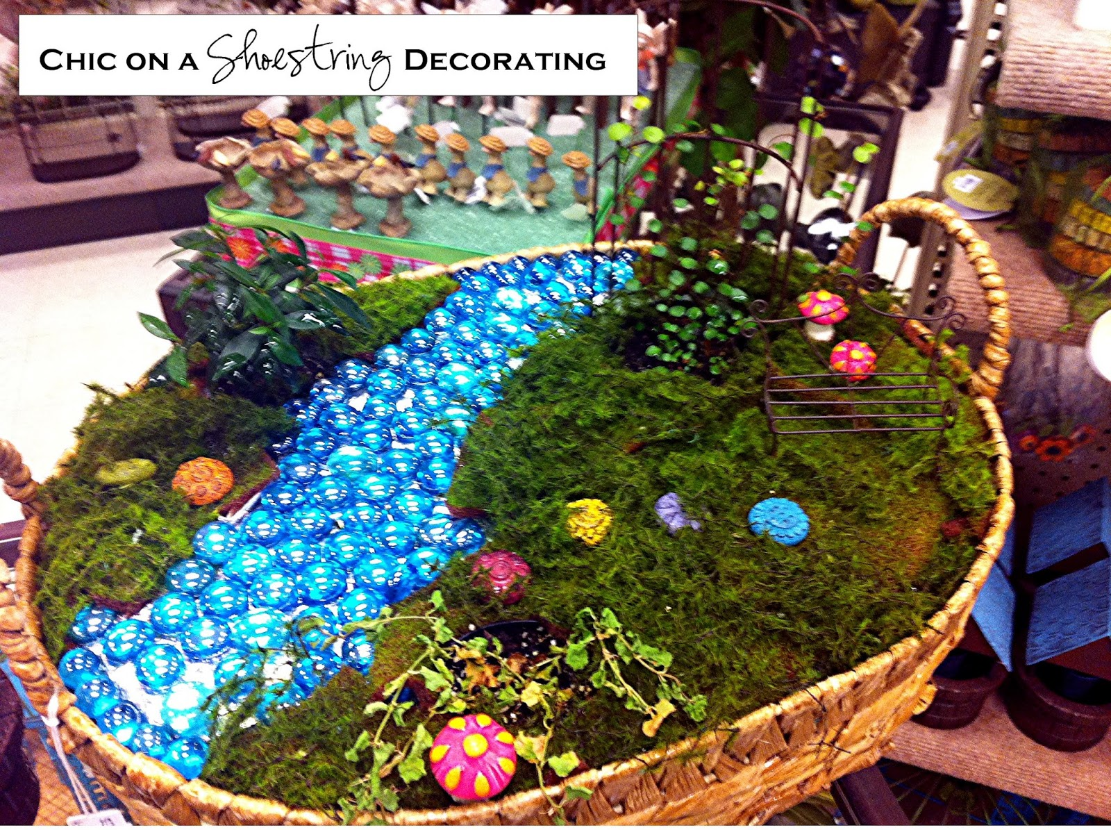 Chic on a shoestring decorating may 2013 for Garden maker online