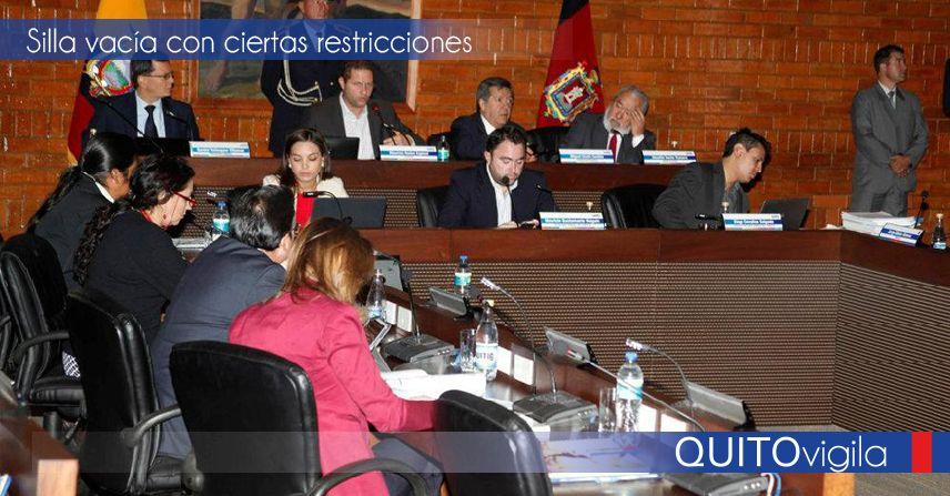 Quito vigila la silla vac a - La silla vacia ...