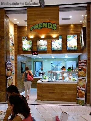 Frends Alimentos Leves: Nova fachada