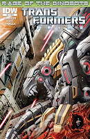 The Transformers Prime: Rage of the Dinobots #2 Cover