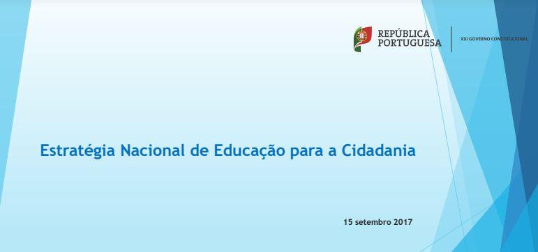 Estratégia Nacional de Educação para a Cidadania - Apresentação